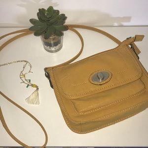 Handbags - Yellow Crossbody Bag